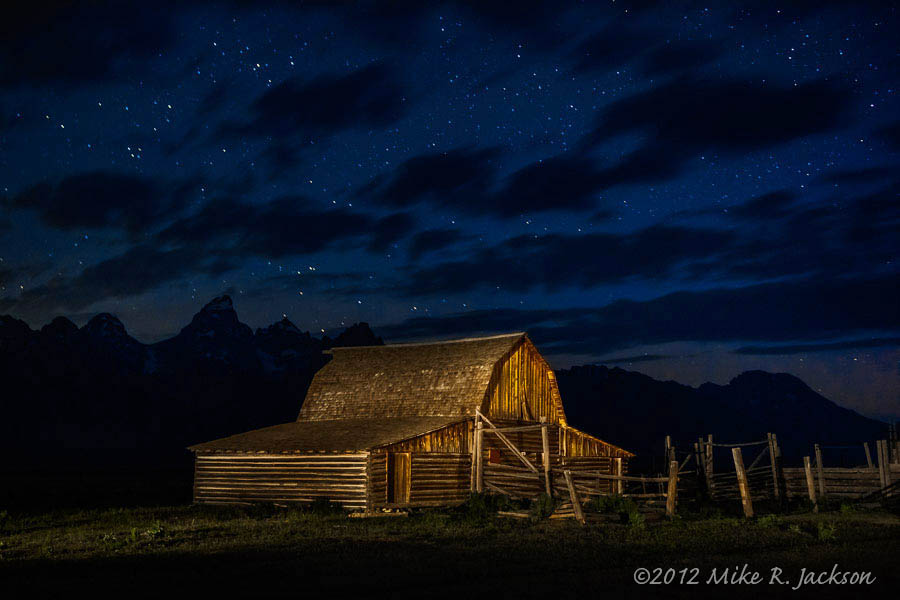 Night Barns